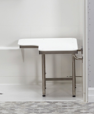 ADA Shower Accessories - Shower and Bath Seats with Grab Bars