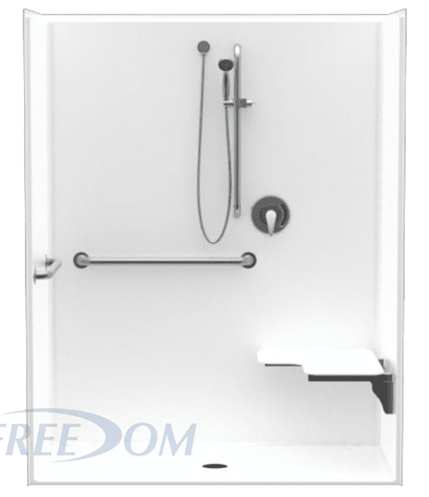 ADA Compliant shower requirements for Commercial use
