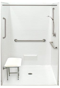 freedom accessible shower 4836
