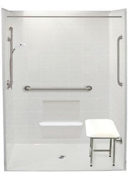 freedom accessible shower 6048
