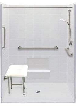 freedom accessible shower 6036